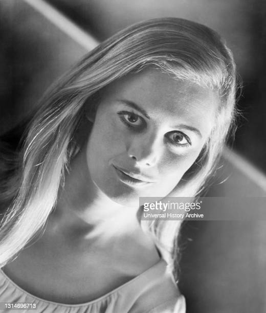 """Shirley Knight, Head and Shoulders Publicity Portrait for the Film, """"The Rain People"""", Warner Bros.-Seven Arts, 1969."""