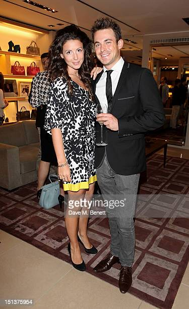 Shirley Leigh Wood Oakes and Jules Knight attend as TOD's and Annabel's with Diego BiveroVolpe cohost an evening to celebrate Vogue Fashion's Night...