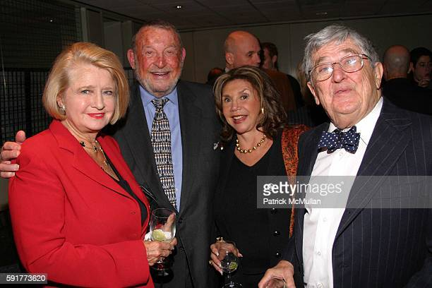 Shirley Lord James Greenwald Marilee Greenwald and Abe Rosenthal attend A Centennial Celebration for Harold Arlen at The Museum of Television and...