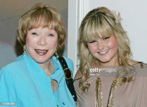 Shirley MacLaine and Ashlee Keating attend Big Brothers Big Sisters' Accessories for Success spring luncheon at Beverly Hills Hotel on April 27 2010...
