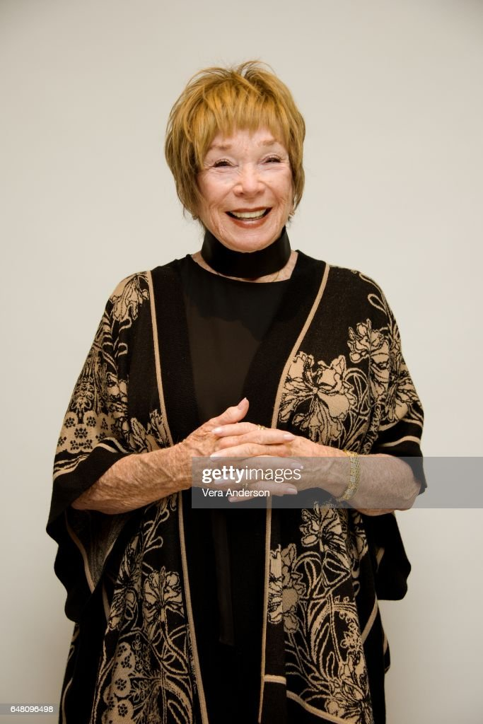 Shirley MacLaine at 'The Last Word' press conference at the Four Seasons Hotel on March 3, 2017 in Beverly Hills, California.