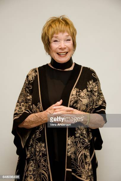 Shirley MacLaine at The Last Word press conference at the Four Seasons Hotel on March 3 2017 in Beverly Hills California