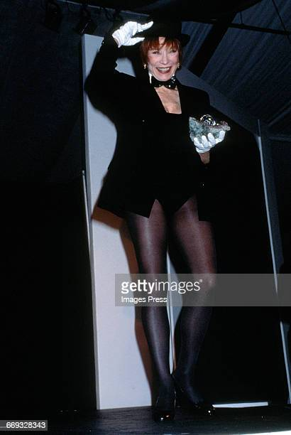 Shirley MacLaine attends the 8th Annual Rita Hayworth Gala to benefit the Alzheimer's Foundation held at Tavern on the Green circa 1992 in New York...