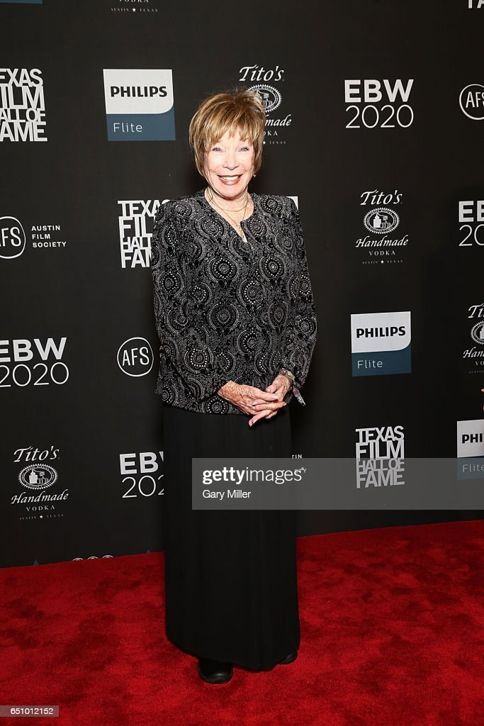 Shirley MacLaine attends the Austin Film Society's Texas Film Awards at Austin Studios on March 9, 2017 in Austin, Texas.