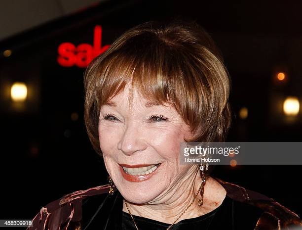 Shirley MacLaine attends the 'Elsa Fred' Los Angeles premiere at Sundance Cinema on October 28 2014 in Los Angeles California