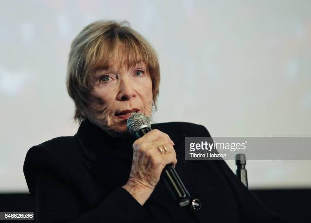 Shirley MacLaine attends The KCET Cinema Series Lumiere Award Ceremony and 'The Last Word' screening at ArcLight Sherman Oaks on February 28 2017 in...
