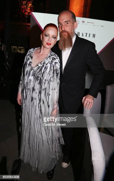 Shirley Manson and Billy Bush attend the Liberatum Mexico Festival 2018 Gala Dinner and Liberatum Cultural Honour Awards at the Museo Nacional de...