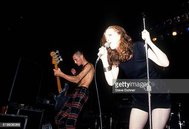 Shirley Manson of Angelfish performs at the New Music Seminar New York July 1 1993