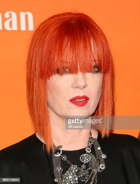 Shirley Manson of Garbage attends The Trevor Project's 2017 TrevorLIVE LA Gala at The Beverly Hilton Hotel on December 3 2017 in Beverly Hills...