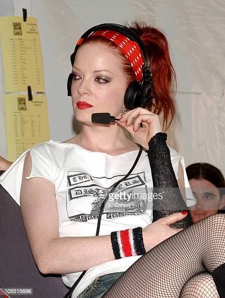 Shirley Manson of Garbage during KROQ Inland Invasion 5 Backstage at Hyndai Pavilion at Glen Helen in Devore California United States