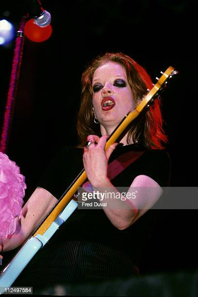 Shirley Manson of Garbage during Shirley Manson of Garbage at the 1996 Reading Festival at Reading in Reading Great Britain