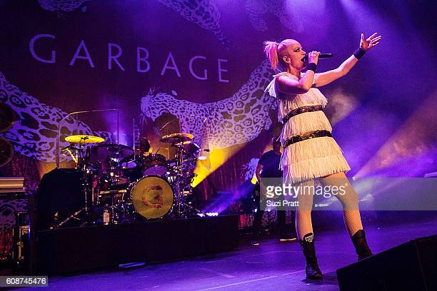 Shirley Manson of Garbage performs at Paramount Theater on September 19 2016 in Seattle WA