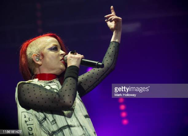 Shirley Manson of Garbage performs onstage during Isle of Wight Festival 2019 at Seaclose Park on June 15 2019 in Newport Isle of Wight