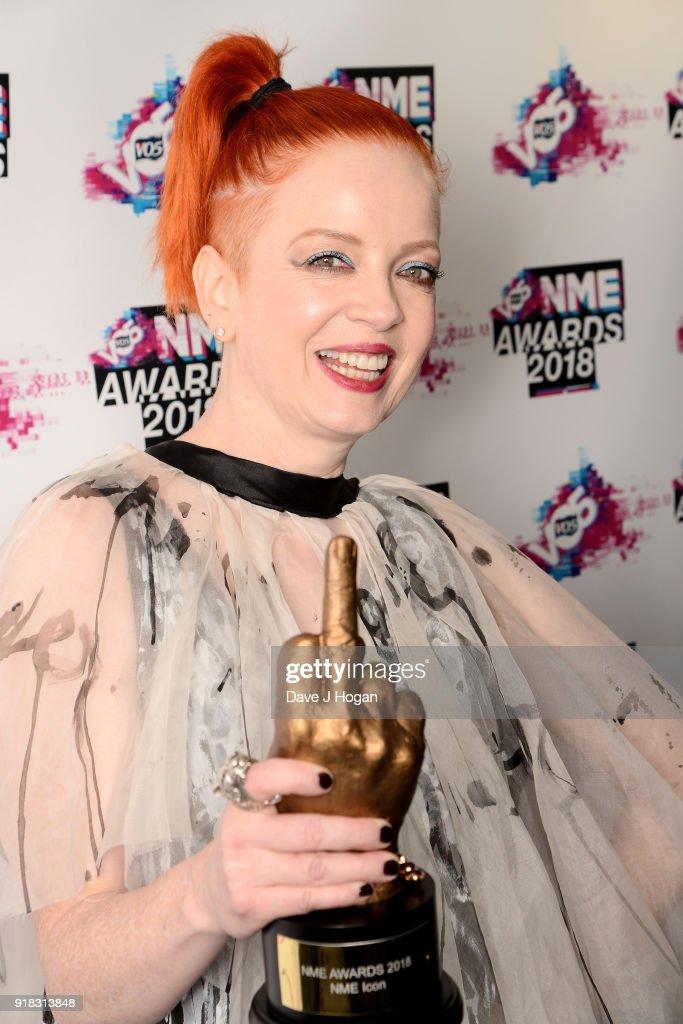 VO5 NME Awards - Winners Room : News Photo