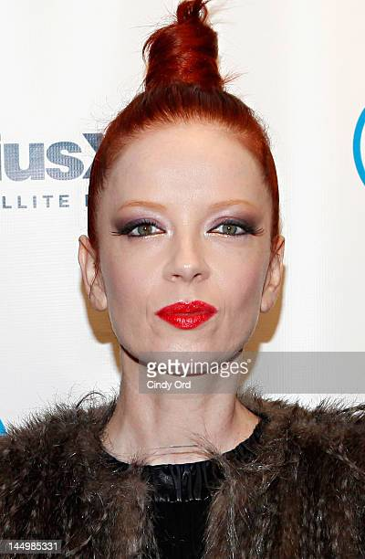 Shirley Manson of Garbage visits the SiriusXM Studio on May 21 2012 in New York City