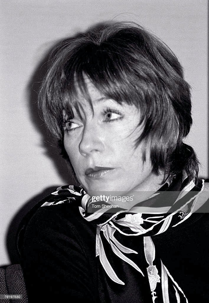 Shirley McClaine At A Press Conference, CBS Soho Square, London