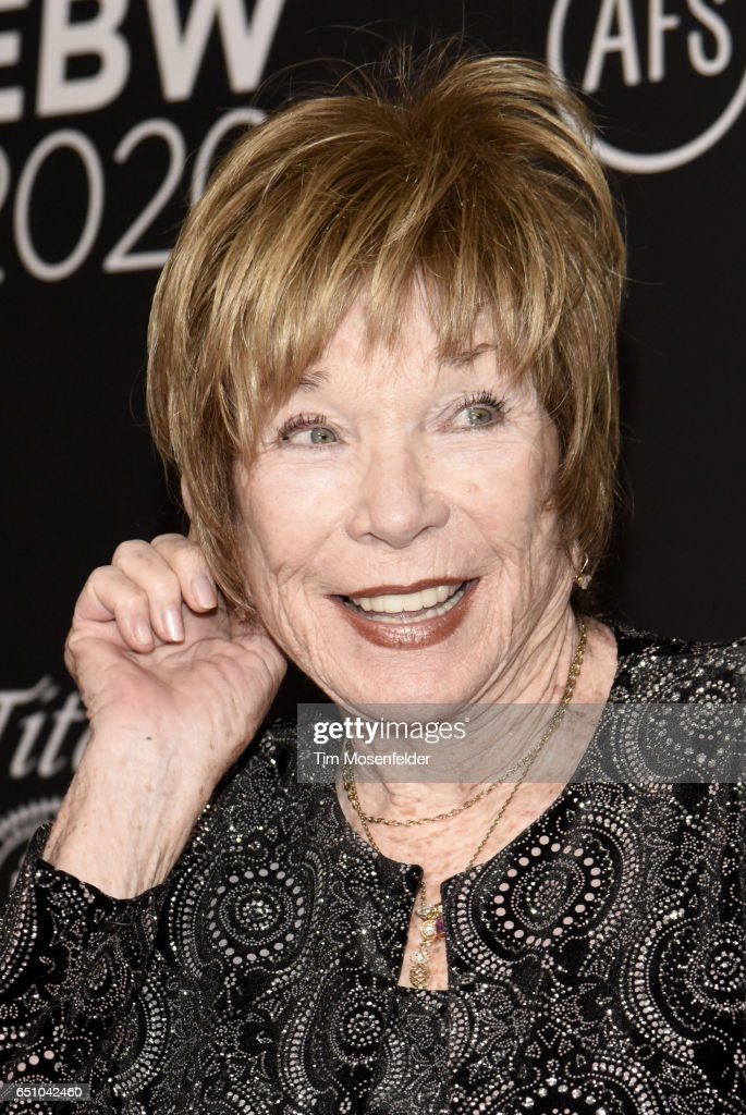 Shirley McLaine attends the 2017 Texas Film Awards at Austin Studios on March 9, 2017 in Austin, Texas.