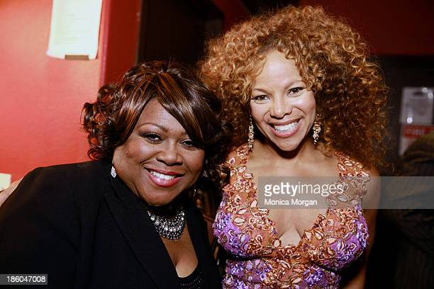 Shirley Murdock and Donna RichardsonJoyner attend the O'Jays 8th Annual Celebrity Scholarship Weekend Masquerade Ball at TW Theater on October 25...