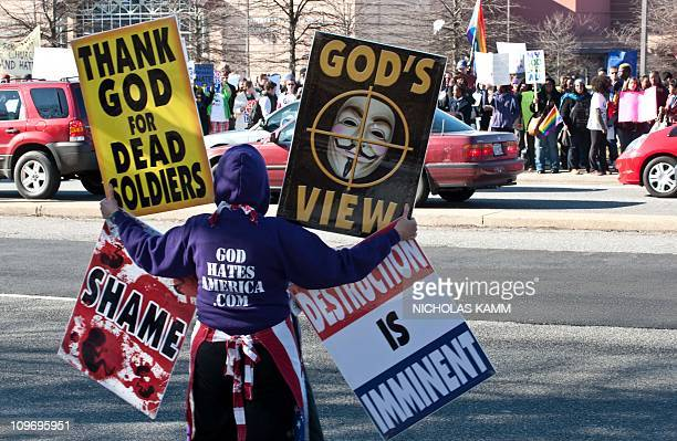 Shirley PhelpsRoper of the Westboro Baptist Church a Kansas church known for its vehement antigay positions and for protesting at US soldiers'...