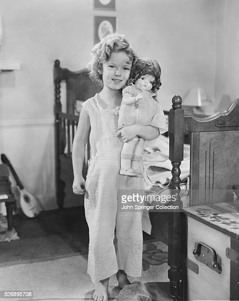 Shirley Temple appears as orphaned Shirley Blake in Bright Eyes
