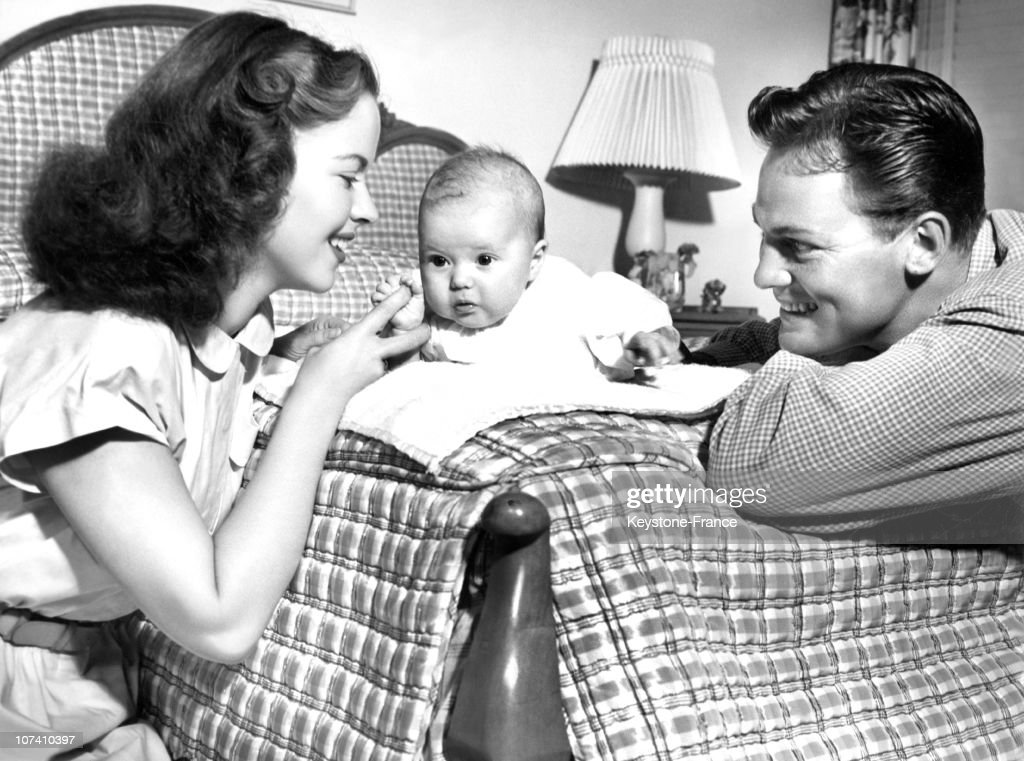 Shirley Temple And Family