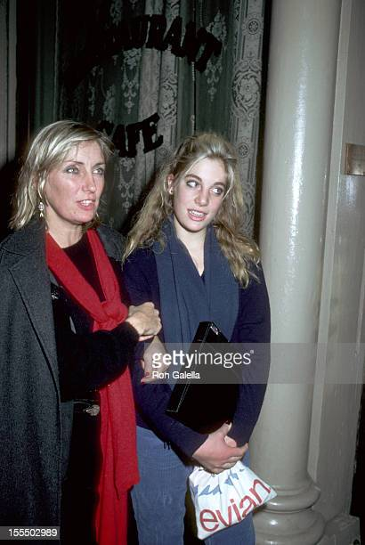 Shirley Watts and Seraphina Watts during Rolling Stones File Photos 1960s1990s in London New York United States
