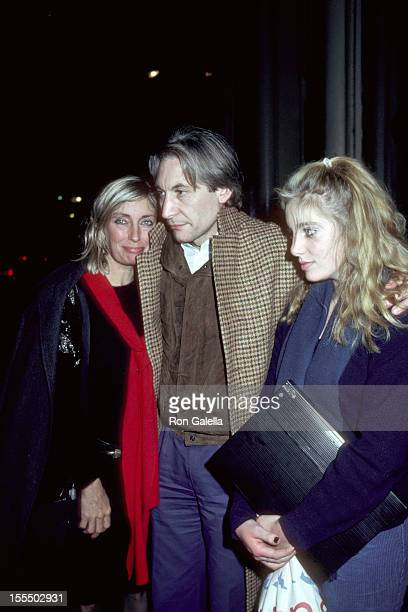 Shirley Watts Charlie Watts and Seraphina Watts during Rolling Stones File Photos 1960s1990s in London New York United States