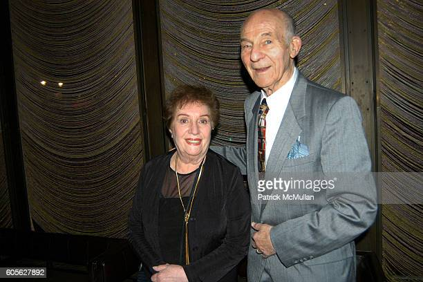 Shirley Wershby and Joe Wershby attend Barbara Walters and Don Hewitt host a dinner in honor of George Clooney David Strathairn Frank Langella and...