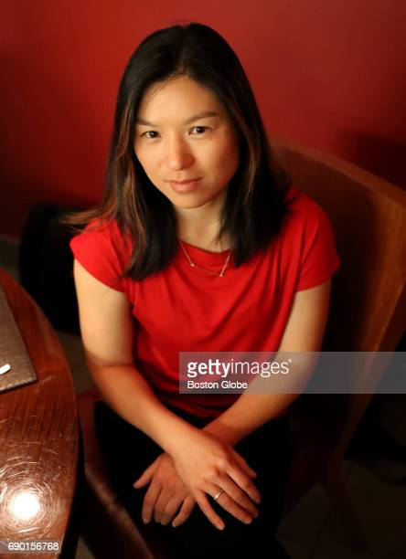 Shirley Wu director of product science at 23andMe poses for a portrait in Boston on May 19 2017