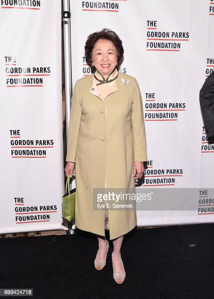 Shirley Young attends the 2017 Gordon Parks Foundation Awards Gala at Cipriani 42nd Street on June 6 2017 in New York City