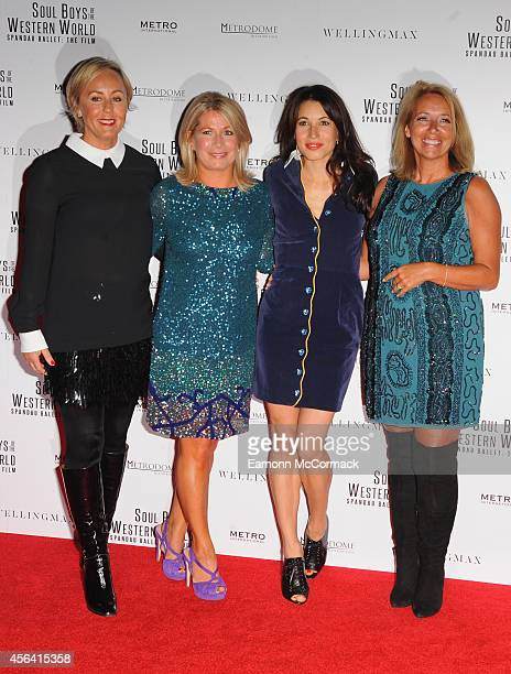 Shirlie Holliman Alison Evers Lauren Kemp and Leaflyn Keeble attend the World Premiere of 'Soul Boys Of The Western World' at Royal Albert Hall on...