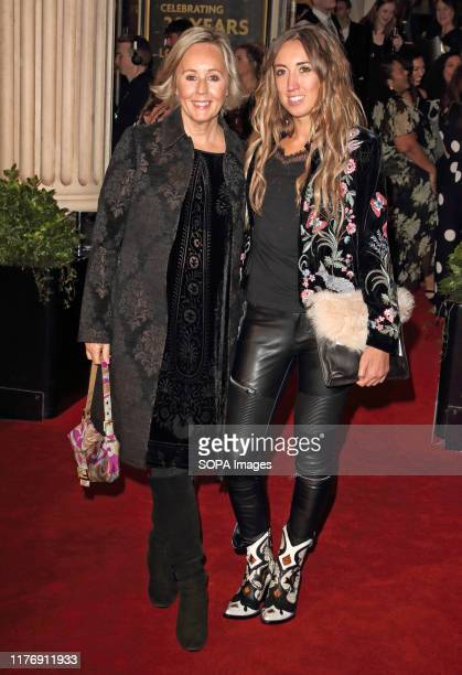 Shirlie Holliman and Harley Moon Kemp on the red carpet during The Lion King 20th Anniversary Gala performance at The Lyceum Theatre in London