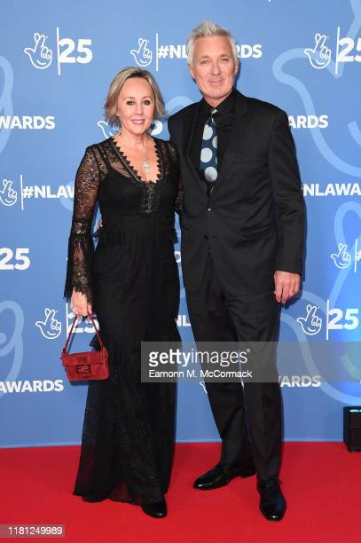 Shirlie Holliman and Martin Kemp attend the BBC1's National Lottery Awards 2019 at BBC Television Centre on October 15 2019 in London England