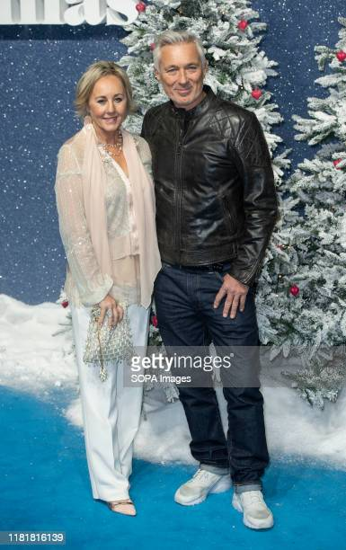 Shirlie Holliman and Martin Kemp attend the Last Christmas Premiere at the BFI Southbank in London.