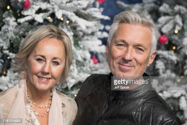Shirlie Holliman and Martin Kemp attend the Last Christmas UK Premiere at BFI Southbank on November 11 2019 in London England