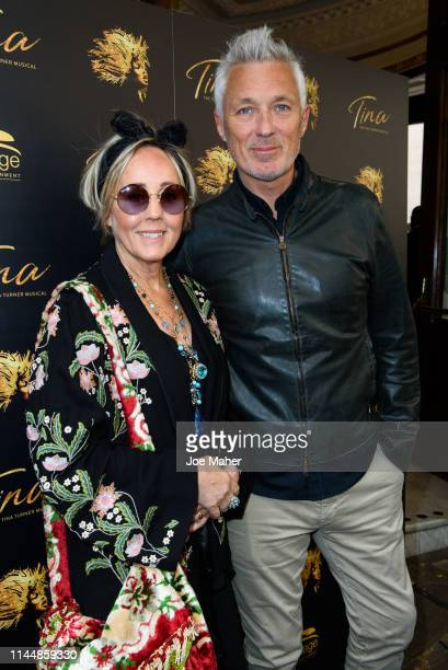 Shirlie Holliman and Martin Kemp attend the Tina The Tina Turner Musical 1st Birthday Gala at Aldwych Theatre on April 24 2019 in London England
