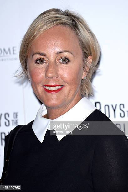 Shirley Holliman attends the World Premiere of Soul Boys Of The Western World at Royal Albert Hall on September 30 2014 in London England