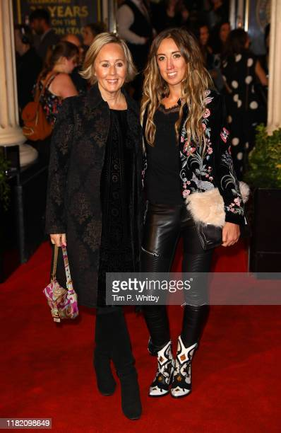 Shirlie Kemp and Harley Moon Kemp attend The Lion King 20th anniversary gala performance at Lyceum Theatre on October 19 2019 in London England