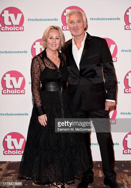 Shirlie Kemp and Martin Kemp attend The TV Choice Awards 2019 at Hilton Park Lane on September 09 2019 in London England