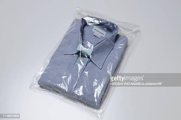 Shirt in Plastic Packaging
