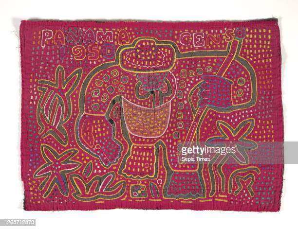 Shirt panel , Kuna people, about 1950s, appliqued cotton, 16-1/2 x 22-1/2 in., Textile and Fashion Arts.