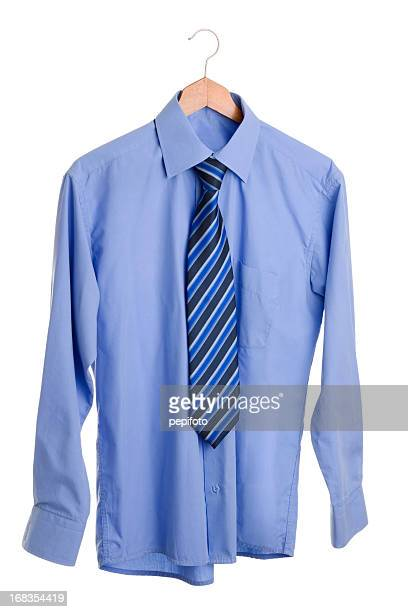 shirt - coathanger stock pictures, royalty-free photos & images