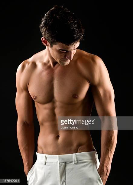 Nackter Oberkörper Mann
