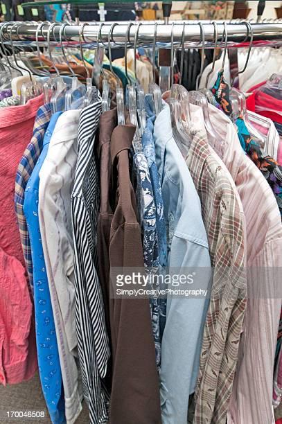 Shirts in Thrift Shop