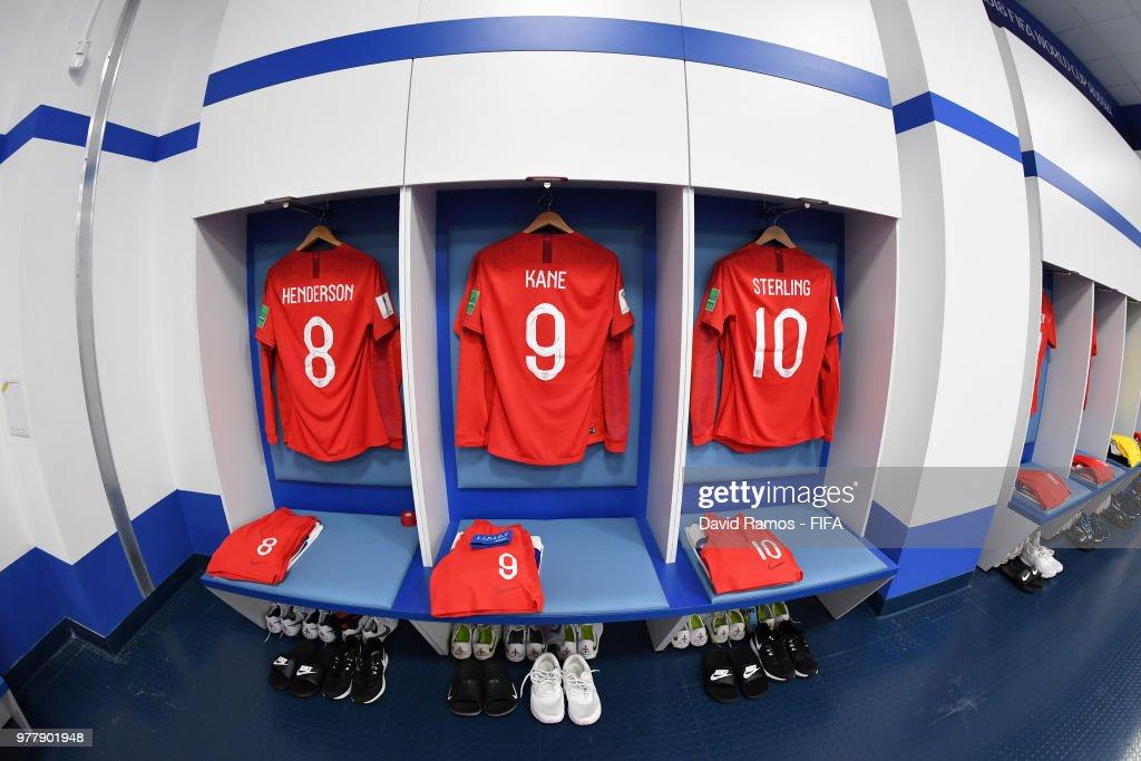 bd31b6460 Tunisia v England: Group G - 2018 FIFA World Cup Russia : News Photo