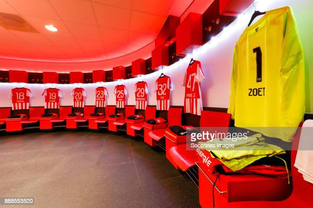 Shirts of Pablo Rosario of PSV Jurgen Locadia of PSV Joshua Brenet of PSV Bart Ramselaar of PSV Adam Maher of PSV Albert Gudmundsson of PSV Kenneth...