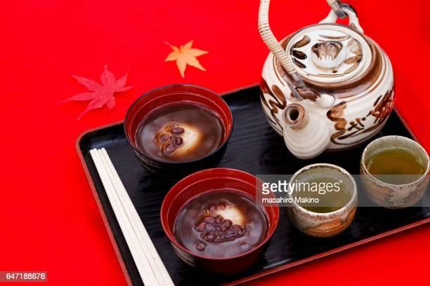 Shiruko and Tea