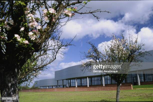 Shiseido factory of perfume and cosmetics in the 'Cosmetic Valley' located in Gien and Ormes in the French area of Loiret
