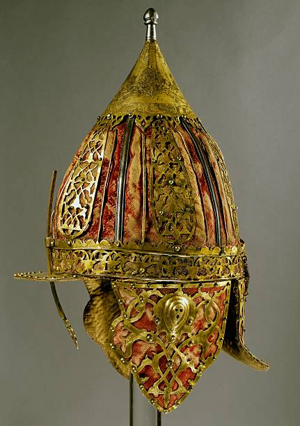 Shishak Ottoman Helmet In Steel Pictures Getty Images