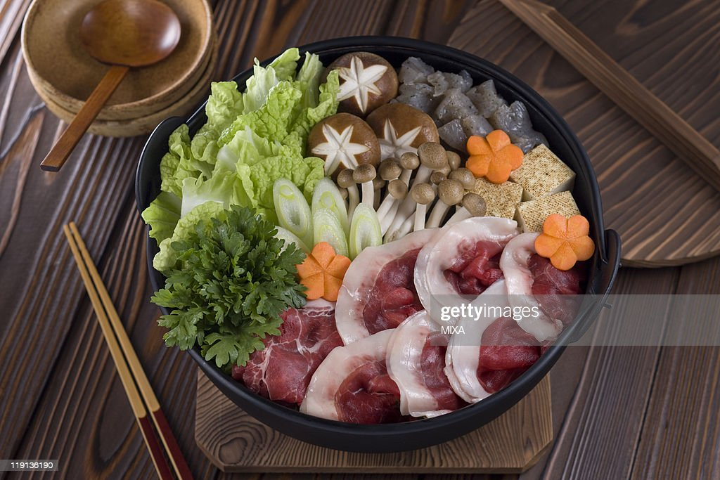 Shishi-nabe : Stock Photo